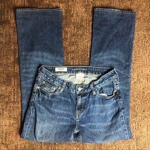 Banana Republic Contoured Boot Cut Jeans Sz 9